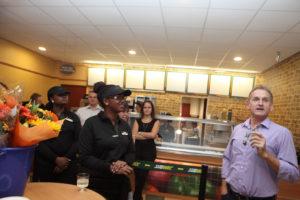 Vincent van Gorkum, franchisenemer Subway
