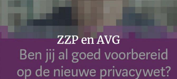 ZZP en AVG